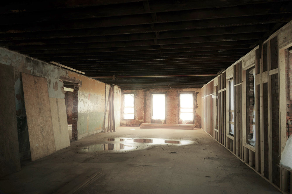 Interior of 2801 Before Renovation