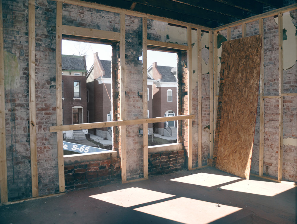 Interior of 2833 During Renovation