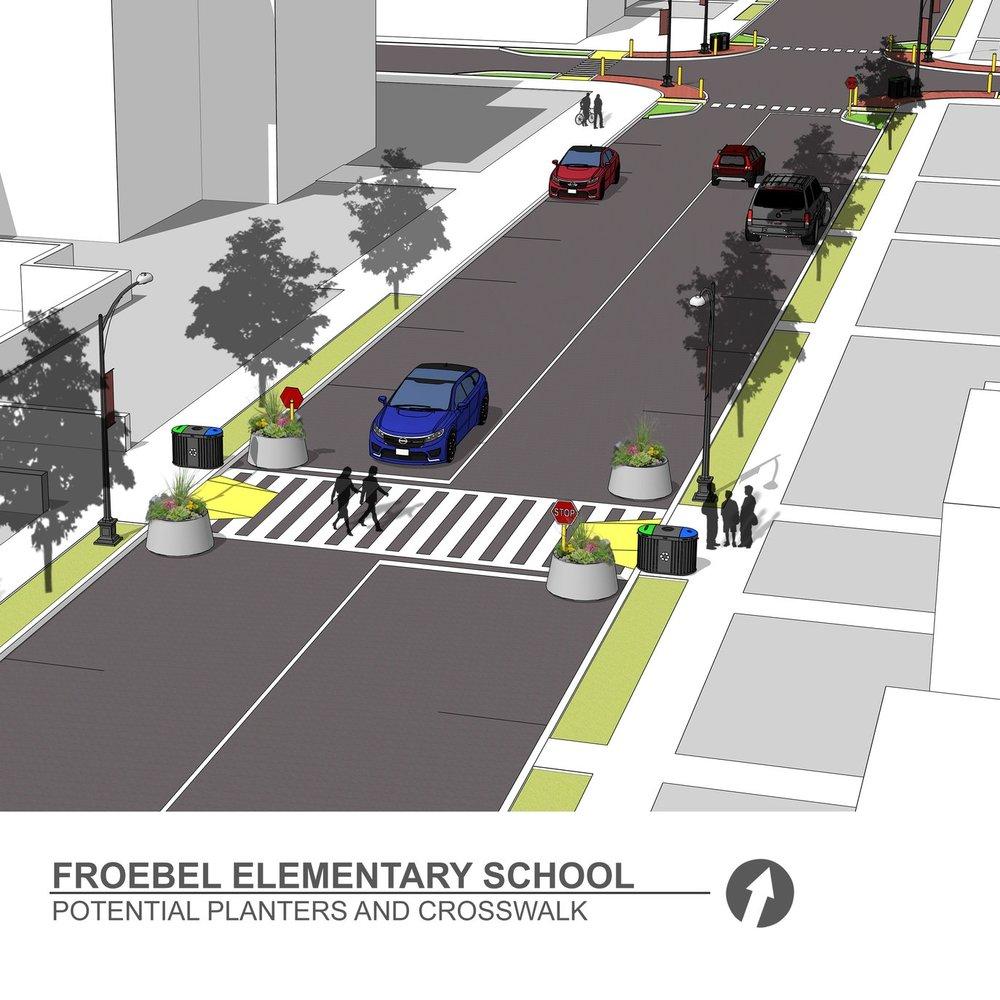 Froebel Elementary School Street