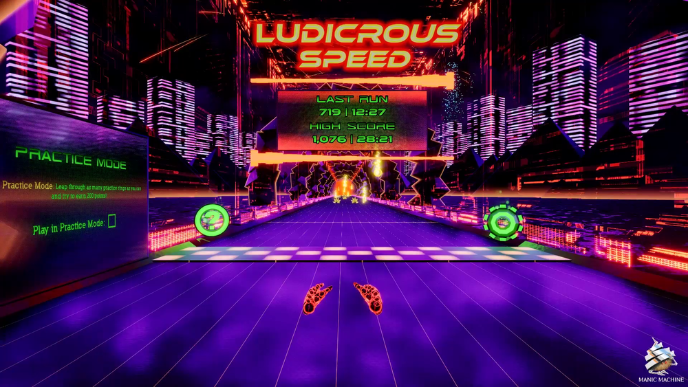 Ludicrous Speed VR HTC Vive Track Starting Line 1.png