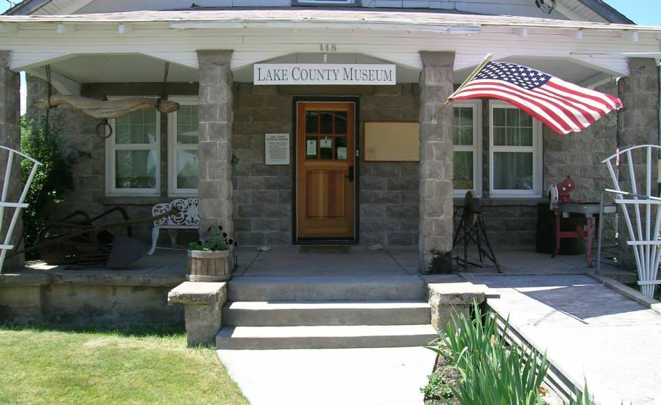 Schminck Memorial & Lake County MuseuMs - The Lake County Museum is located inside a home built in 1927. The museum displays Lake County History on education, business, government, cultures, and artifacts indigenous to the area. Located next door the Schminck Memorial Museum is located in a Bungalow built in 1920. This museum features Elizabeth Currier Foster's quilts and other pioneer artifacts Schminck Museum- More Info.