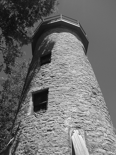 The historic Pelee Island Lighthouse, built in 1833