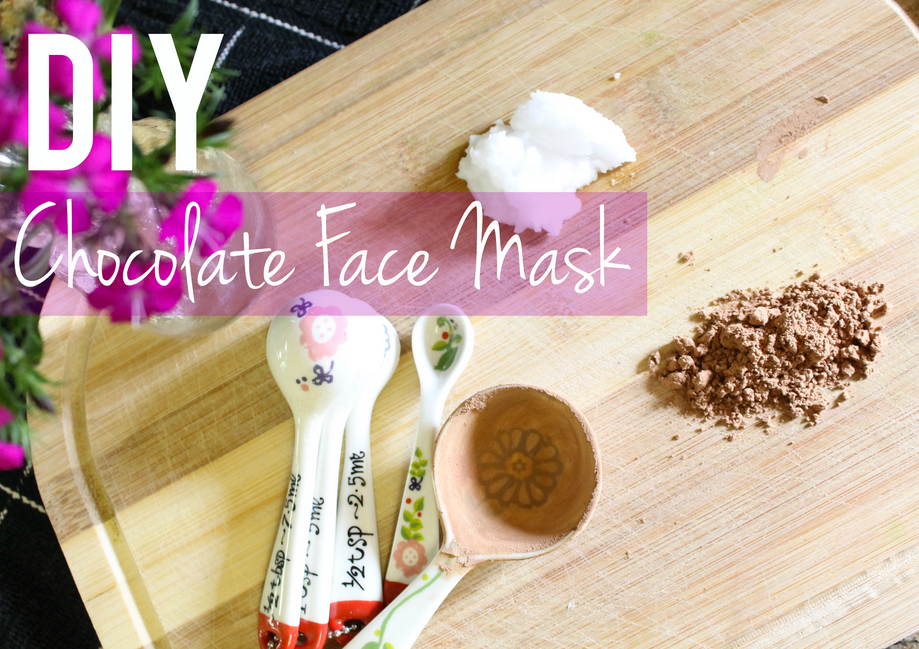 DIY Chocolate Face Mask