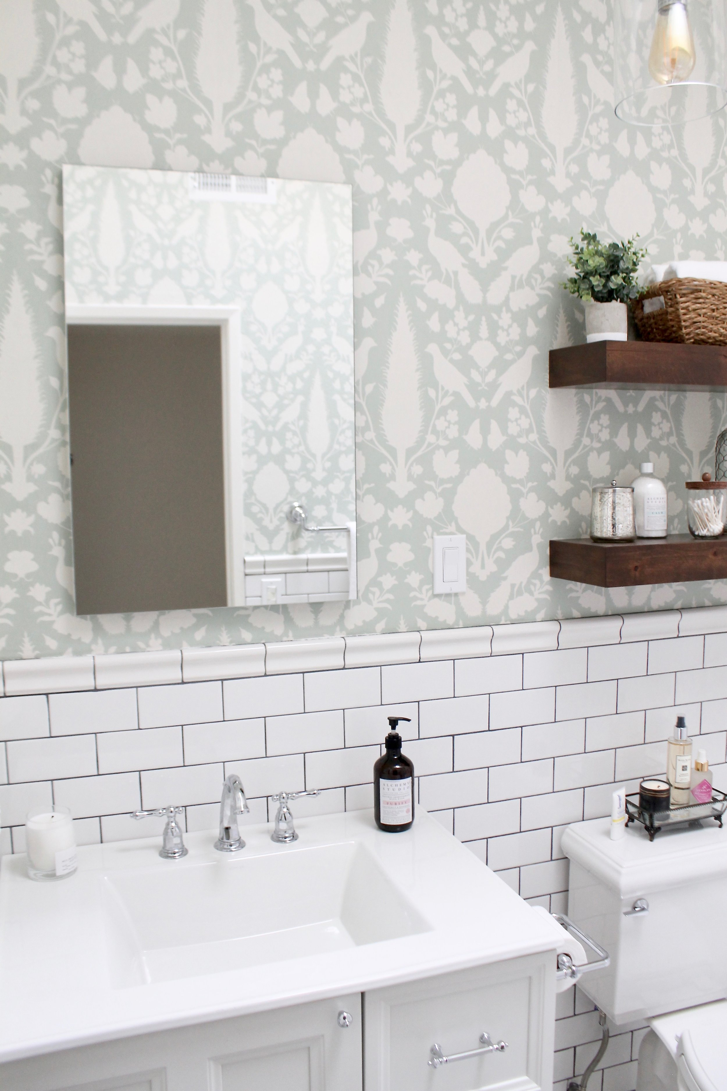 Bathroom Reveal — With Kendra