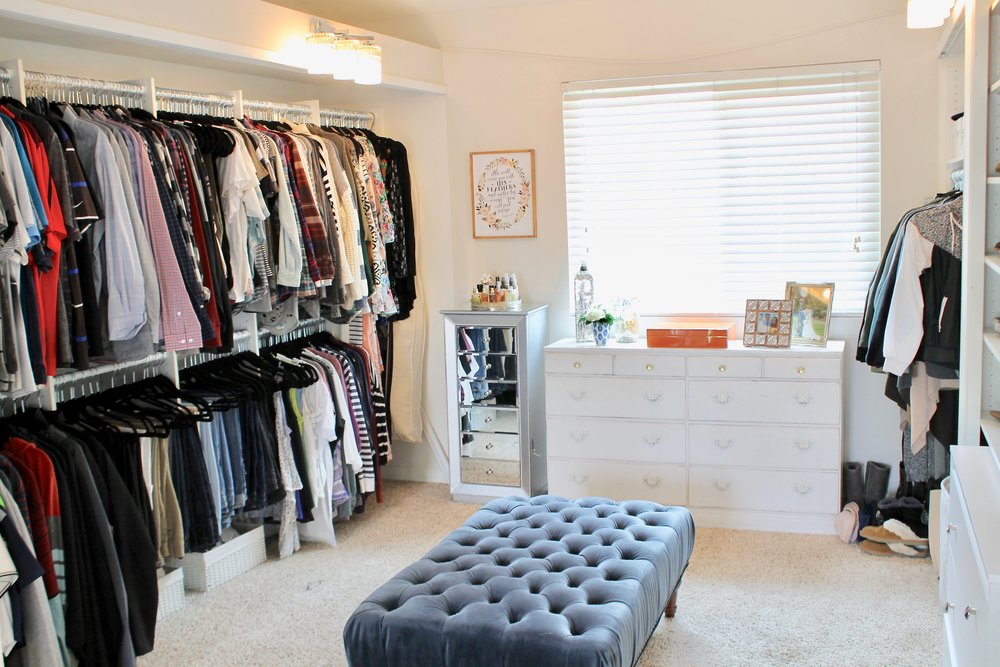 Today I Want To Share With You Our Master Closet. We Just Had It Organized  By Life In Jeneral (the Company Who Did Our Twinu0027s Closet) So I Had To  Share It ...