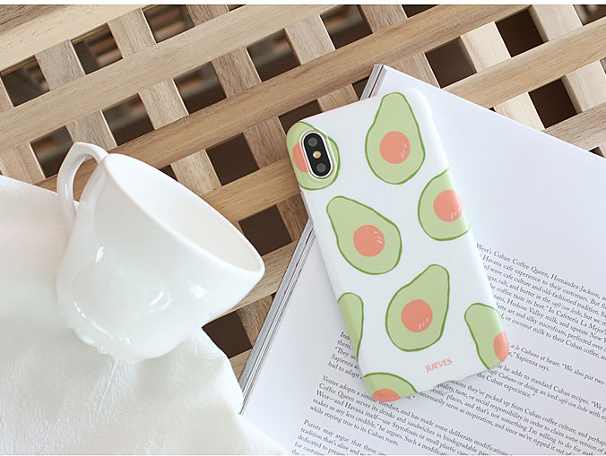 """avocado"" Phone Case"