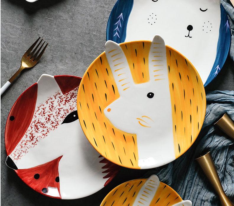 Premium Ceramic Kids Plates
