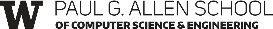 Paul G. Allen School of Computer Science & Engineering