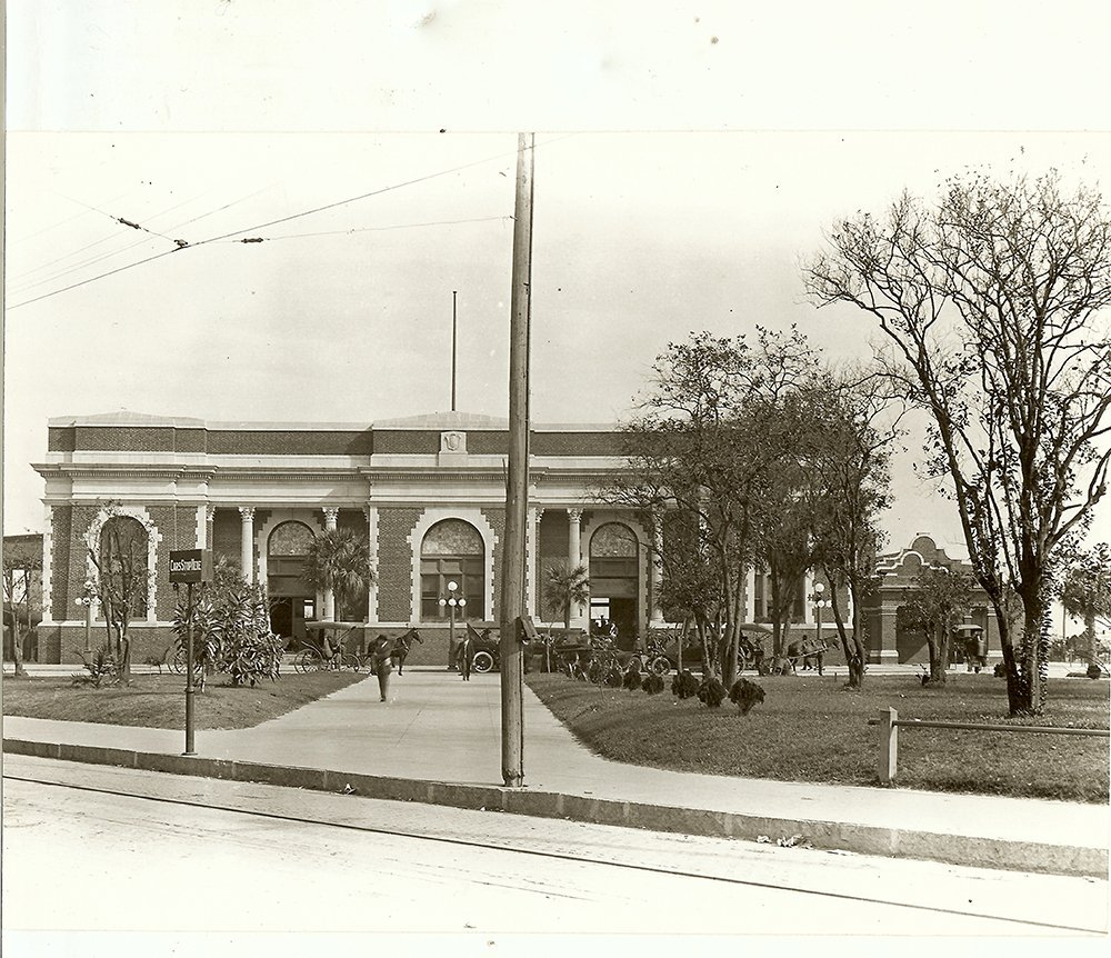 Tampa Union Station circa 1918