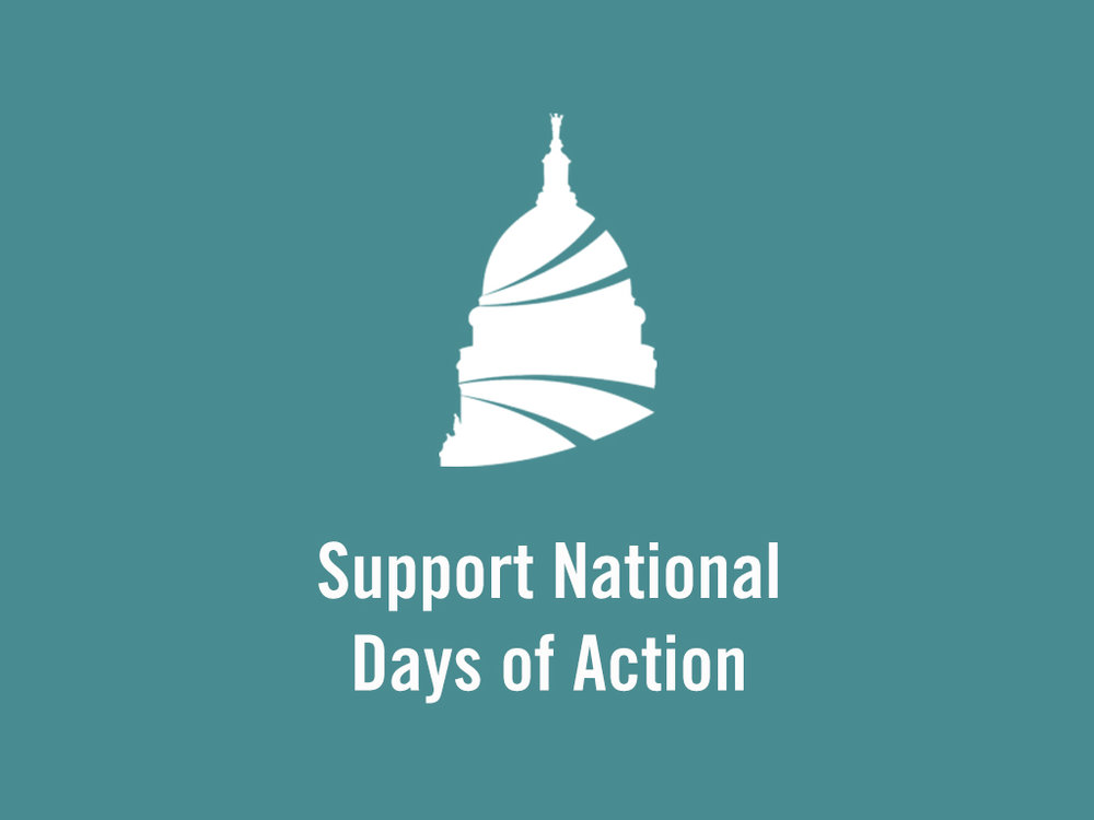 Support National Days of Action