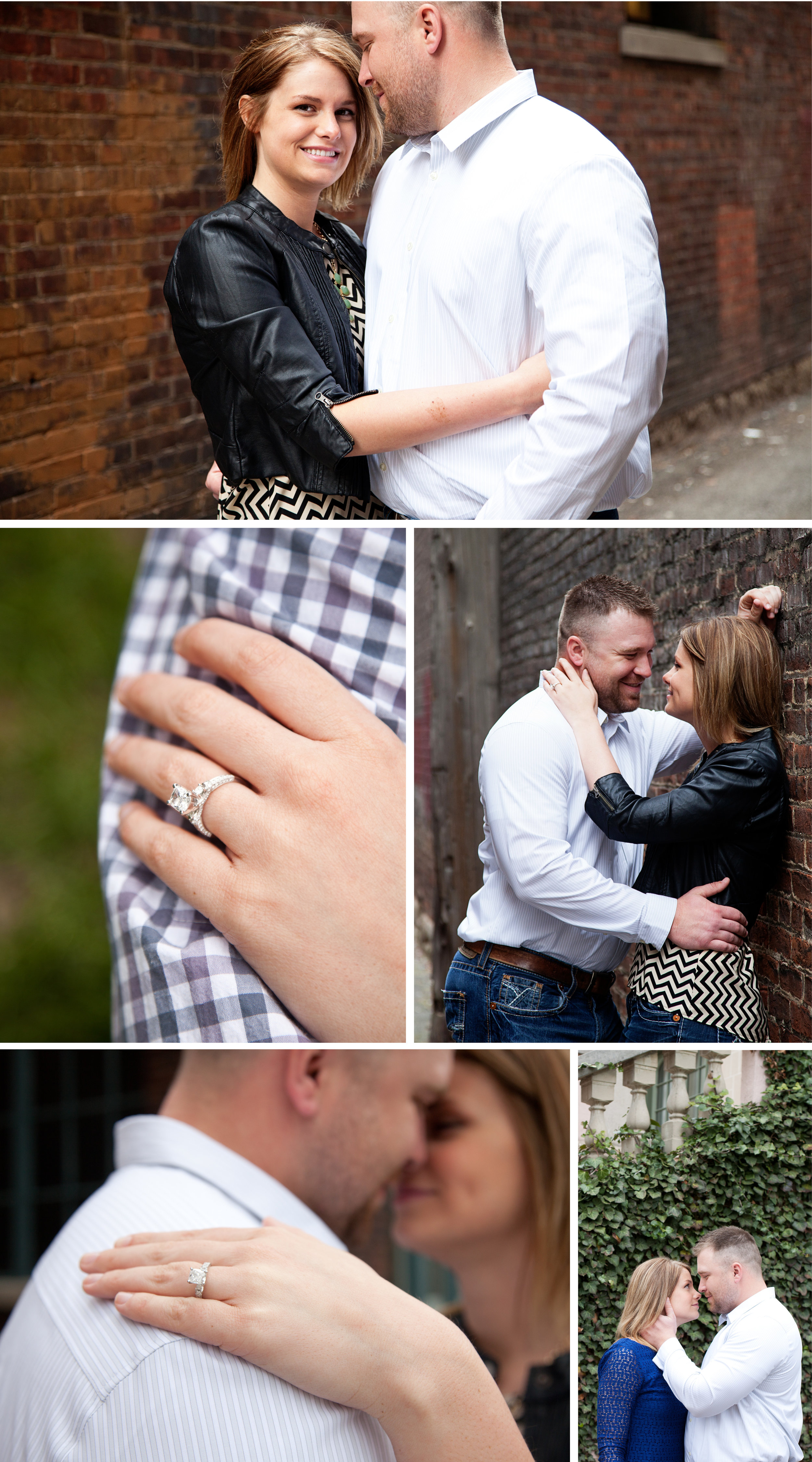 downtown lafayette engagment