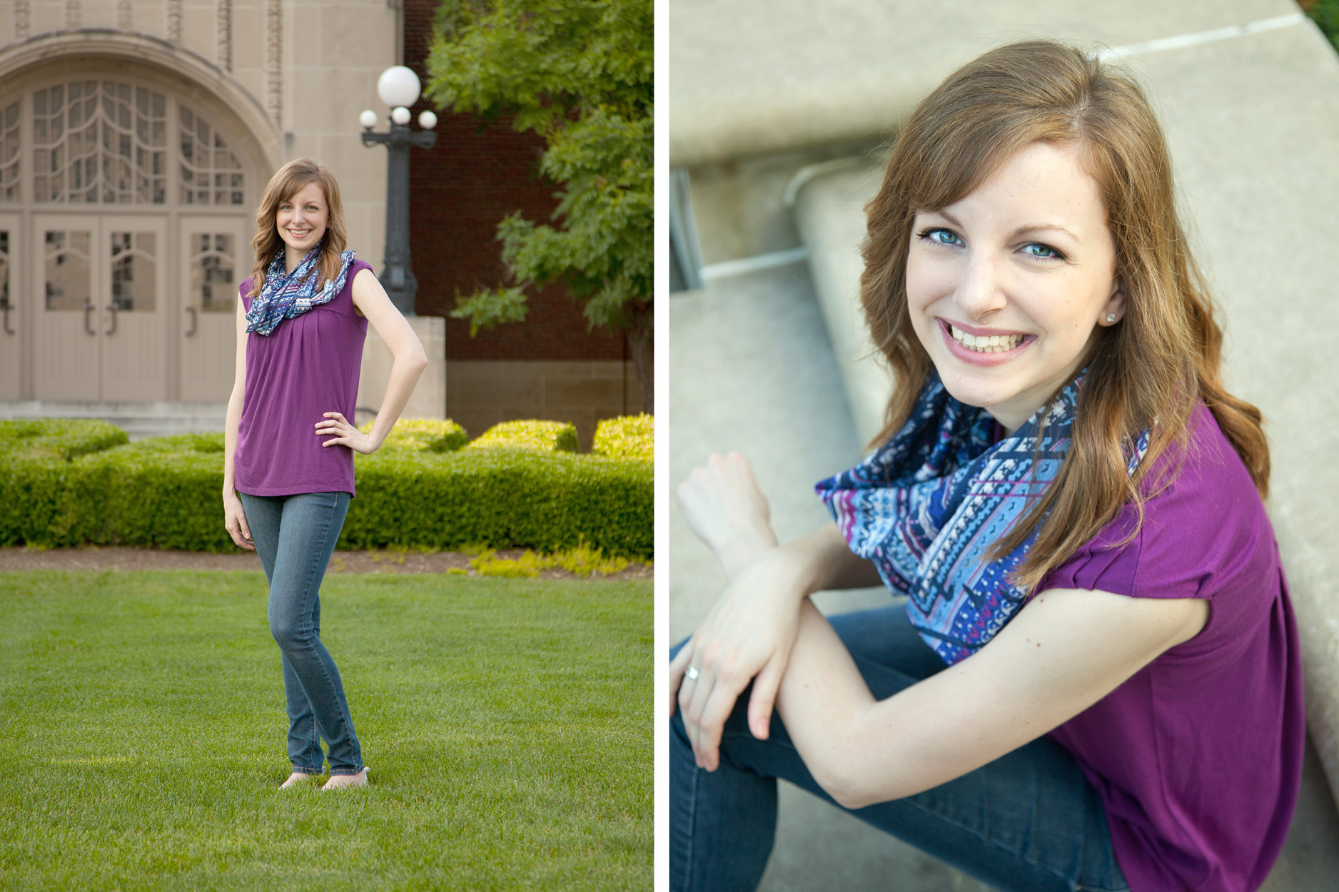 Purdue University Senior Photographer
