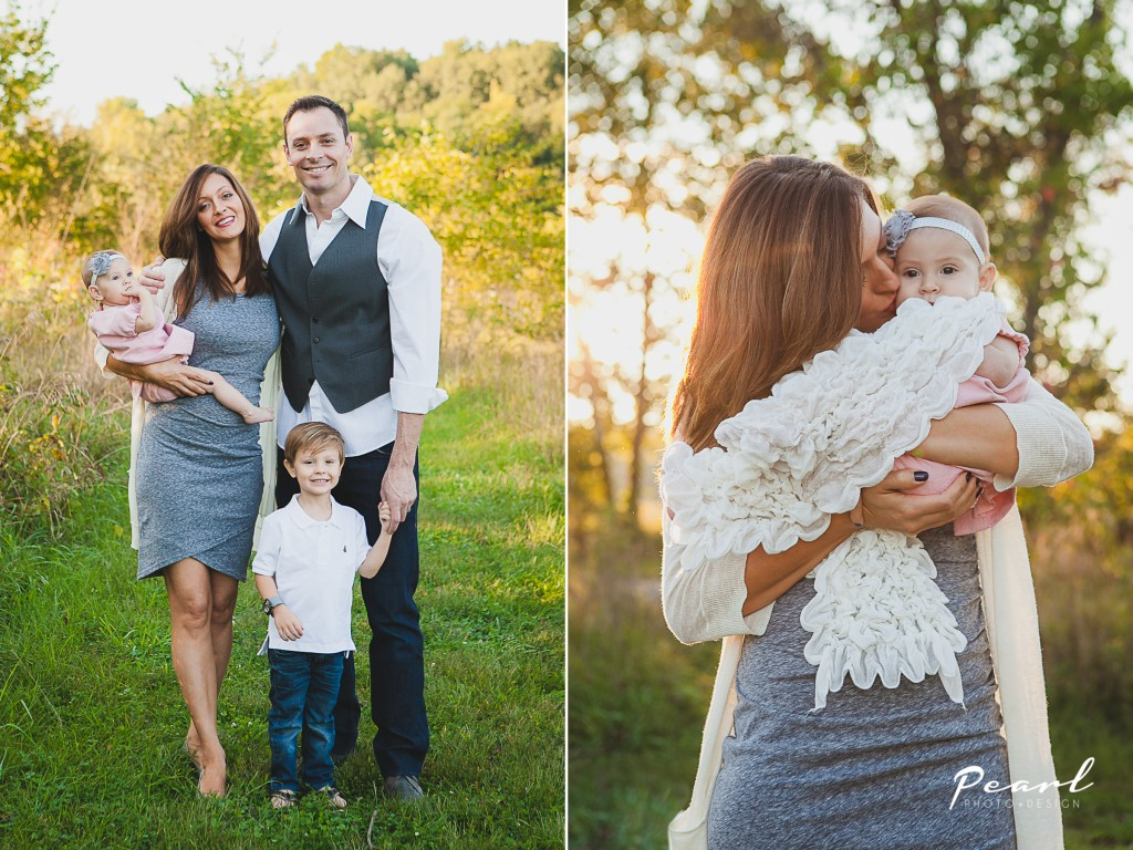 Newborn and Family Photographer | Family Poses | 6 month session