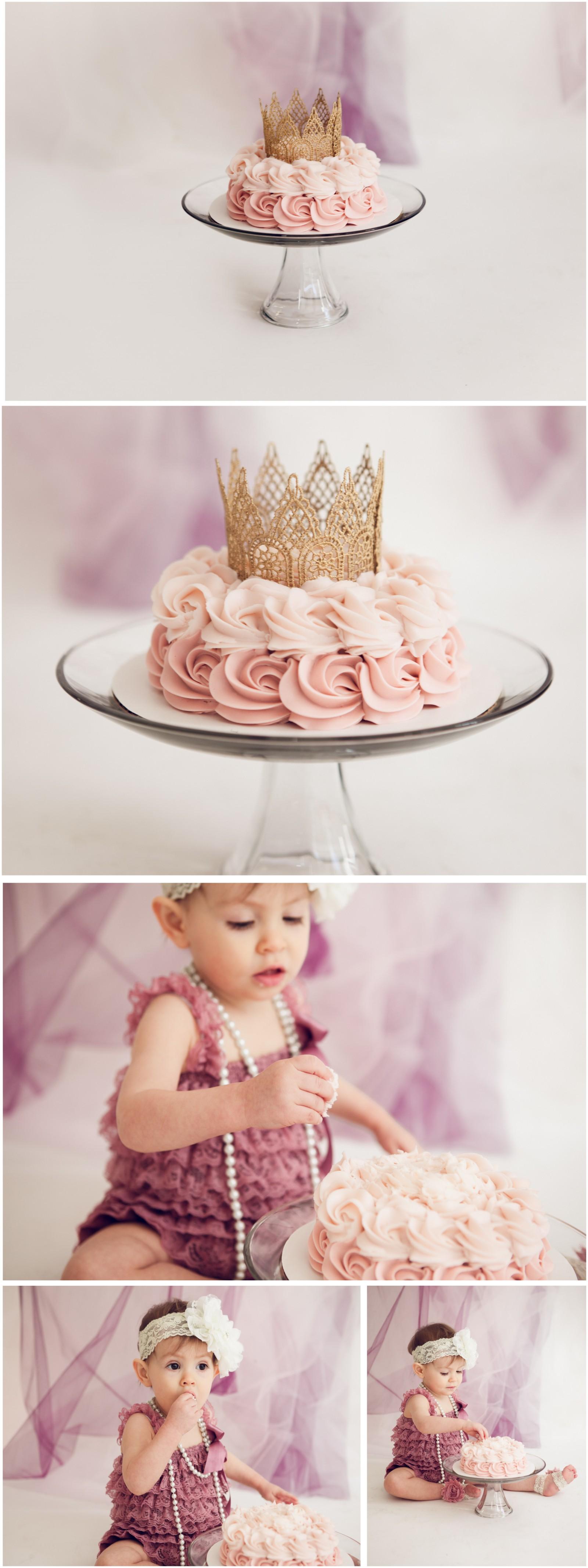 Adelina 3 - Cake Smash Lafayette Indiana Photographer