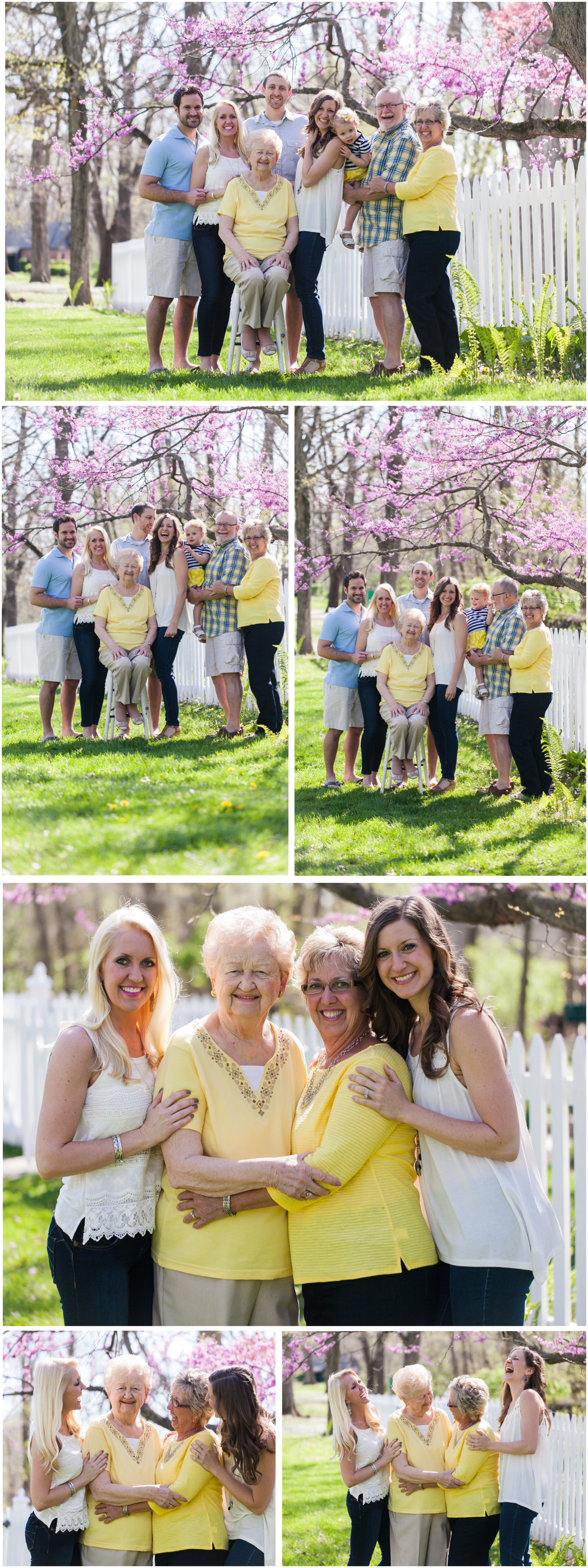 large group family photographer lafayette indiana