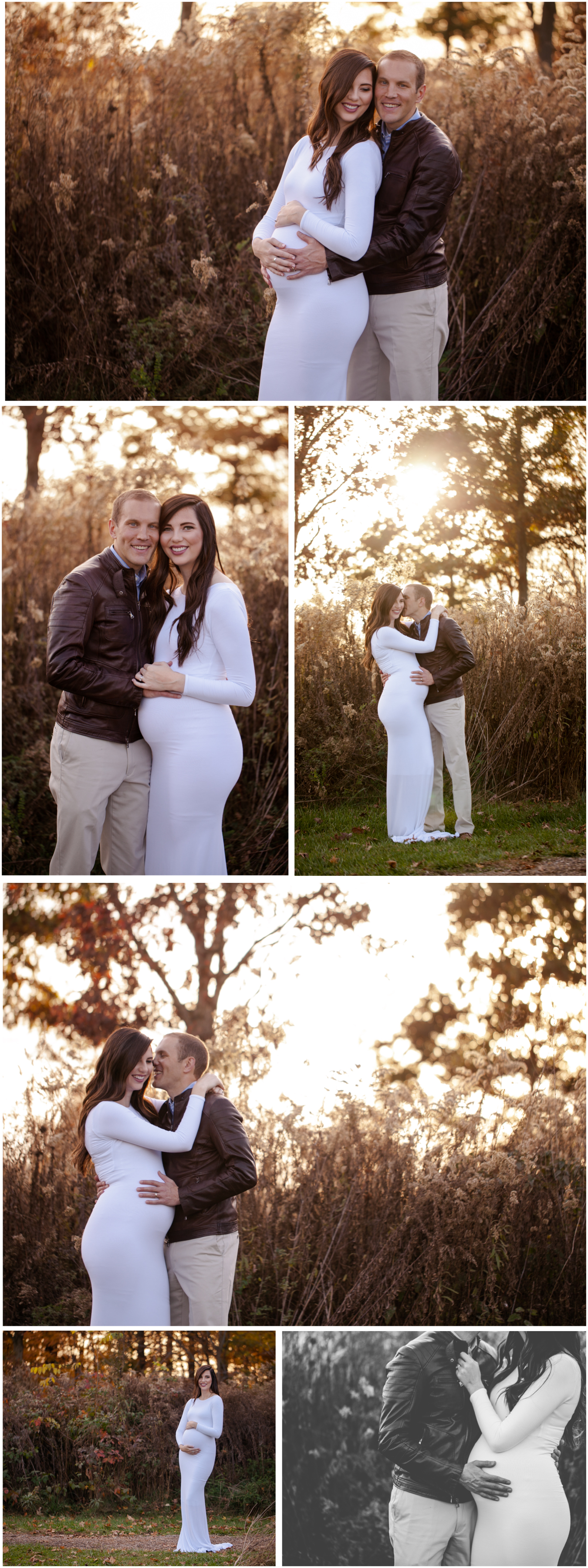 Gorgeous Fall Maternity Session located in Lafayette Indiana