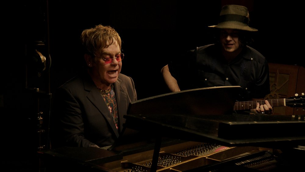 "Elton John and Jack White - ""Two Finger of Whiskey"""