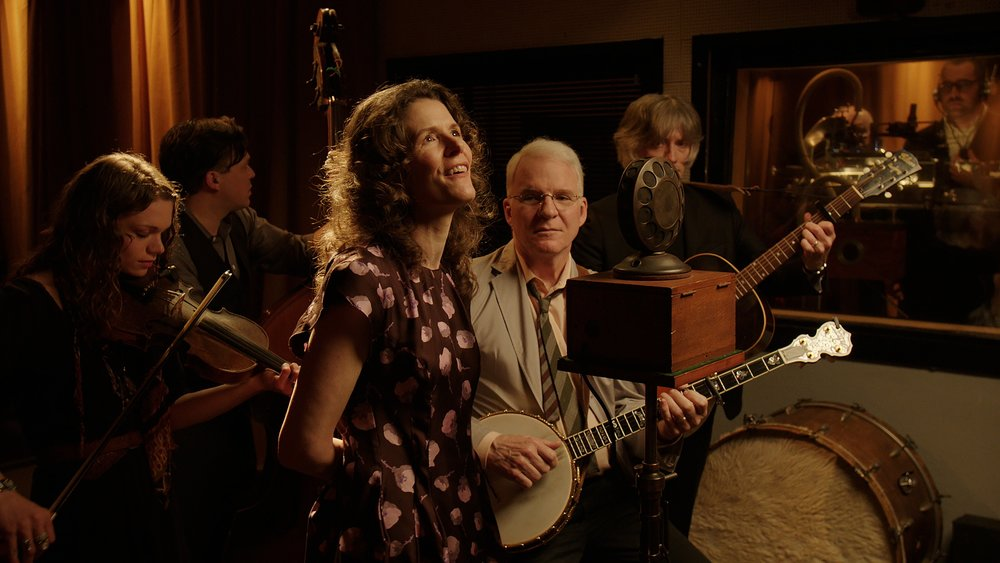 "Steve Martin and Edie Brickell - ""The Coo Coo Bird"""