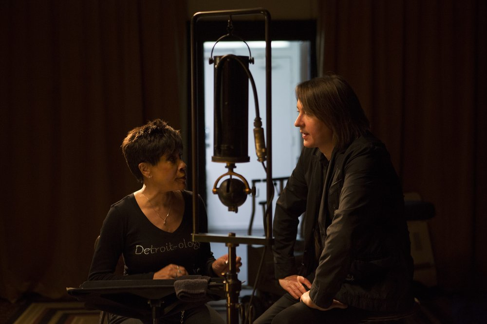 Bettye LaVette and Director Bernard MacMahon  ©2017 Lo-Max Records Ltd.