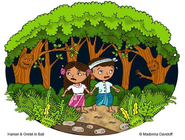 Hansel & Gretel in Bali