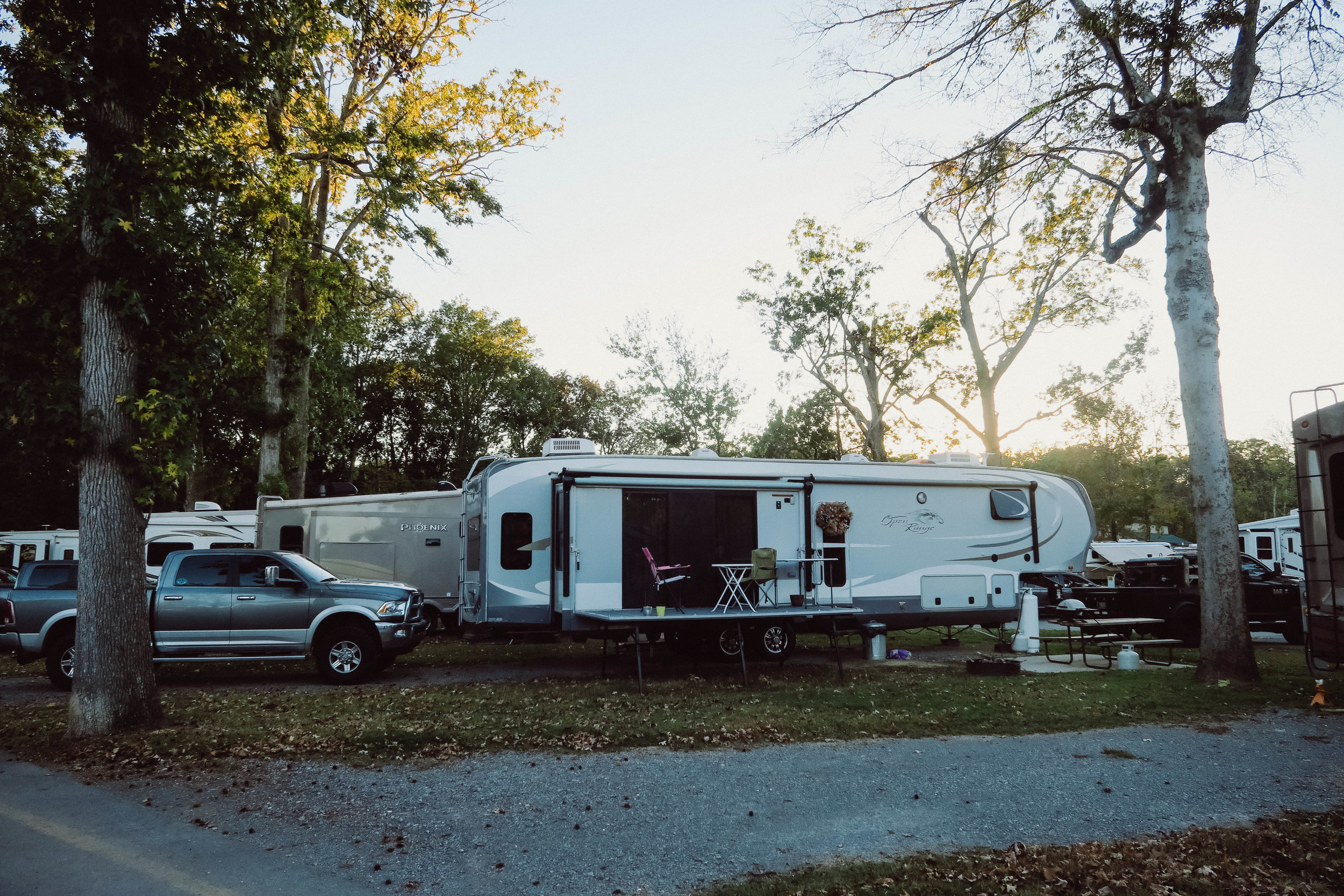 pipeline oilfield friendly campground