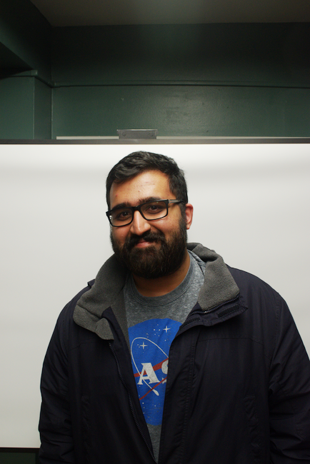 Sahil Suri (MechE '18) - Simulation Lead and Motor and Ejection Member