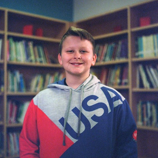 """If I were the President, I would change guns laws. School shootings happen too much and they need to stop. If you're not mentally stable, you should not have a gun in your hands."" - Andrew, 10 years old (📸: @annabsergeeva)"