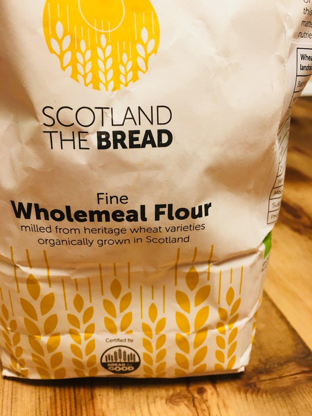 'Rouge D'Ecosse' flour