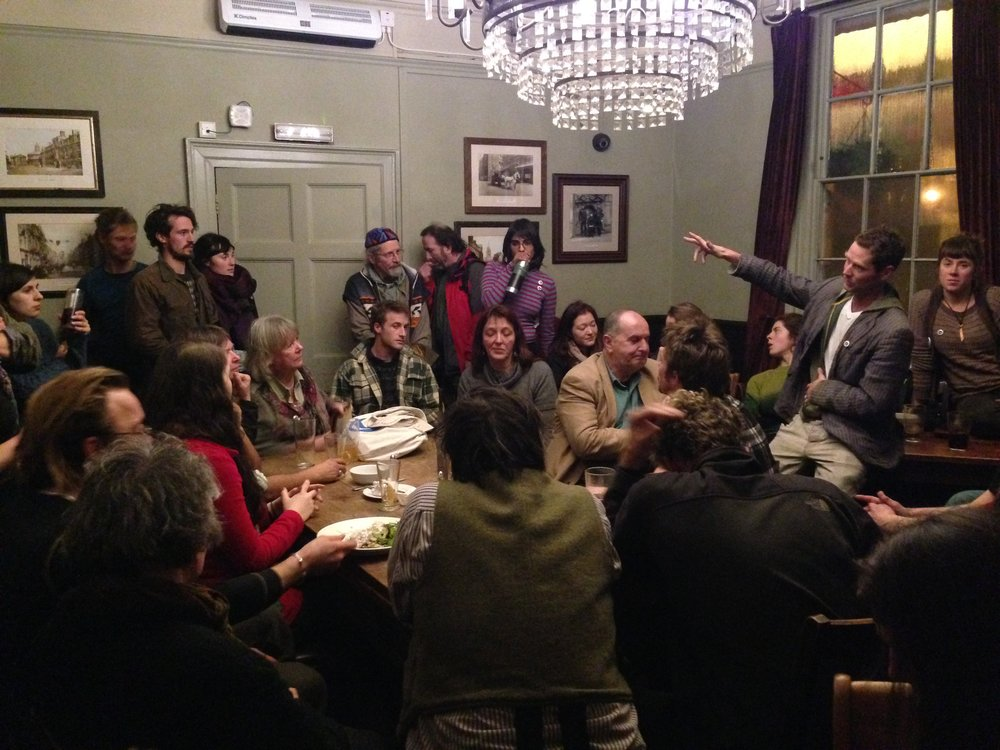 Rebellious speeches in the pub, ORFC 2014
