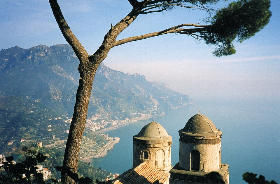 View from Ravello, on Italy's Amalfi Coast