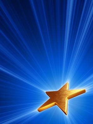Marketing blog gold star