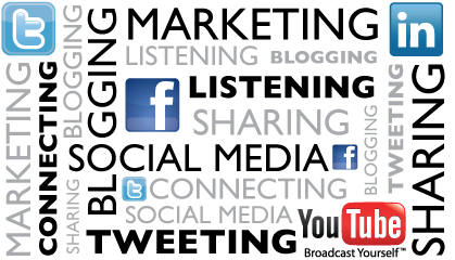 social media, social marke..