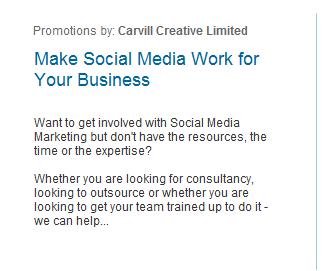 carvill creative social media consultancy