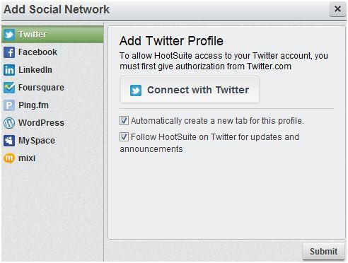 using hootsuite for social media marketing management