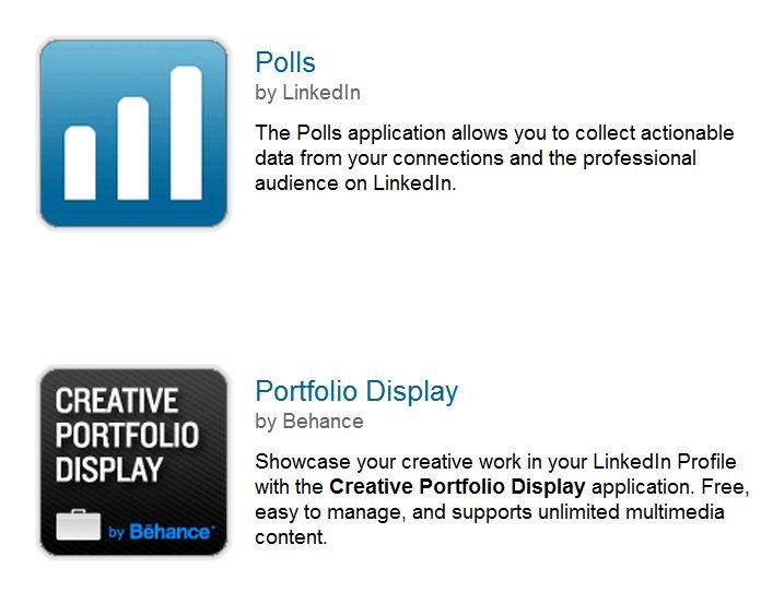 Leveraging LinkedIn Apps in your LinkedIn Profile