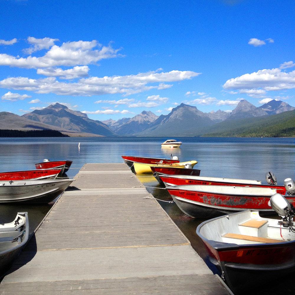 national glacier park boats jpg