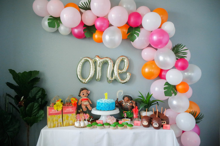 Moana Birthday Party Inspiration Means Of Lines