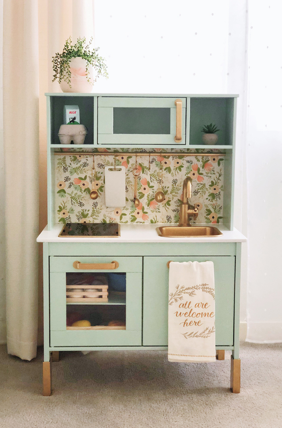 Ikea Play Kitchen Diy Hack Means Of Lines