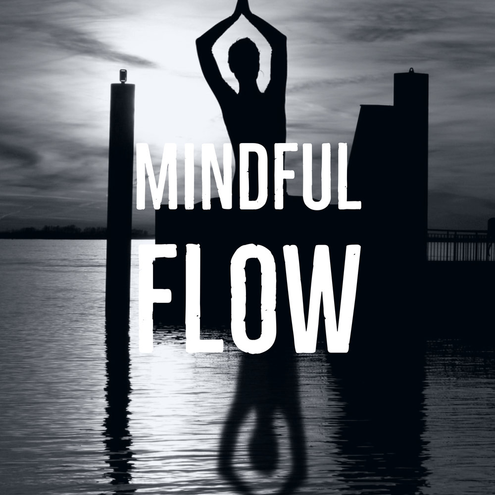 """This is a one hour class of a """"mindful"""" vinyasa flow, with cues on alignment and connection to the breath. Good for students of all levels who are wanting to deepen their breath work and meditative practice, while building on the foundations of yoga. We will move with intention, strengthen the body, and quiet the mind."""