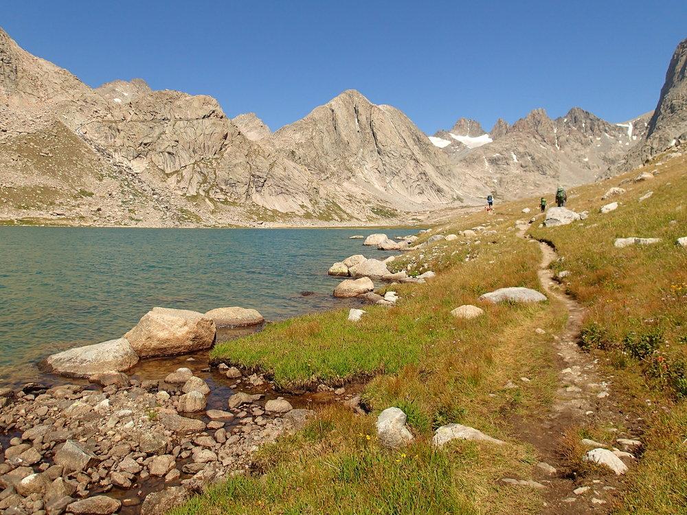 Trail in Titcomb Basin