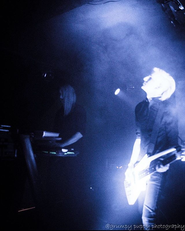 From out of the fog • • • #creuxlies #sacramento #sacmusic #sacmusicscene #postpunk #darkwave #synthwave #shoegaze #newromantic #goth #deathpop #roland #rolandg77 #synthbass #alesis #earthquakerdevices #ironether #analog #synth