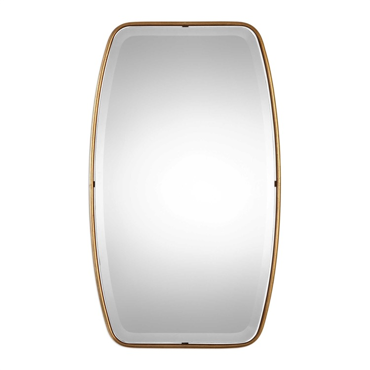 "Antique gold floating bevelled mirror 221"" by 36.jpeg"