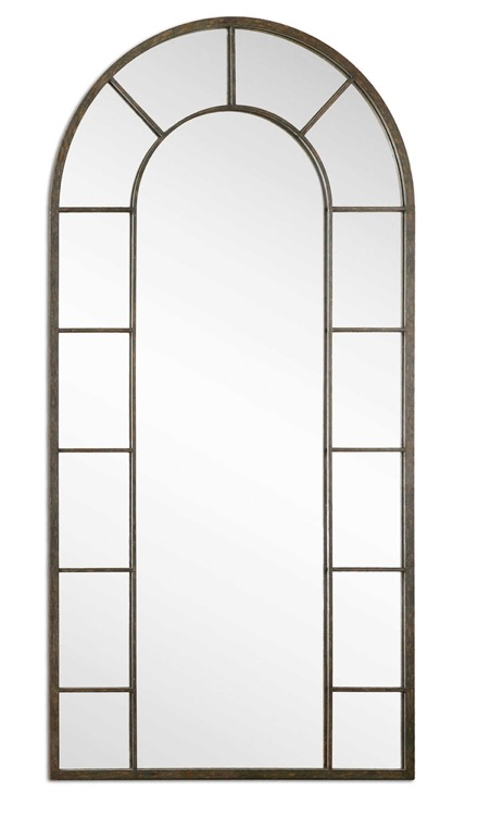 "Petite oxidized nickel bevelled mirror 23"" by 25 (2).jpeg"