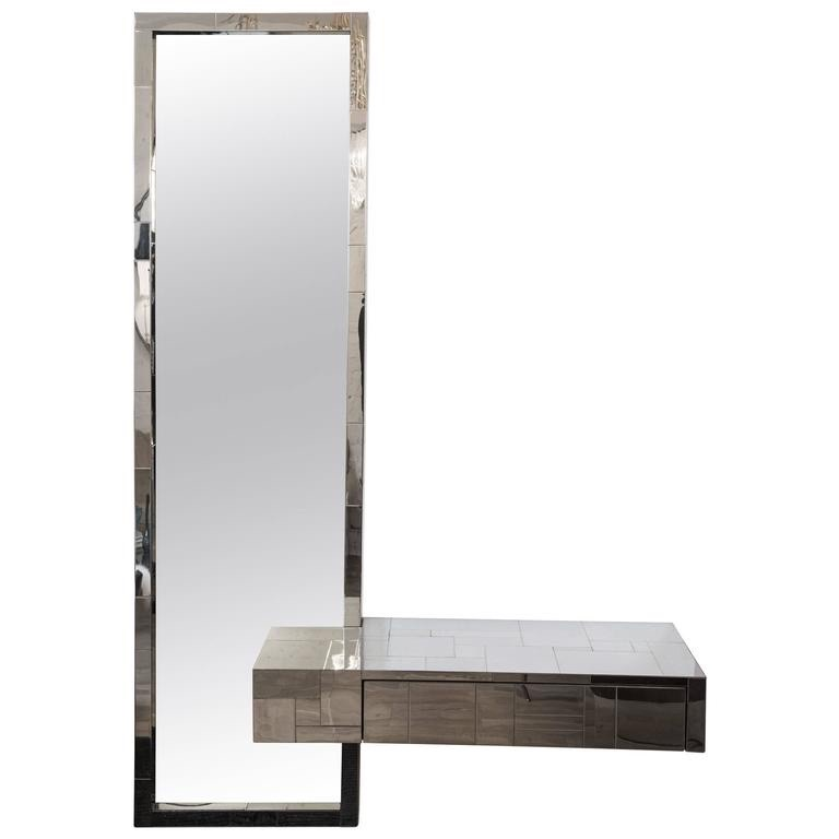 Decorum Custom Metal Console and Mirror.jpg
