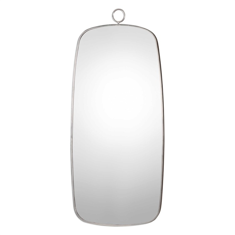 """Curved Stainless Ring Mirror 28"""" X 63.jpeg"""