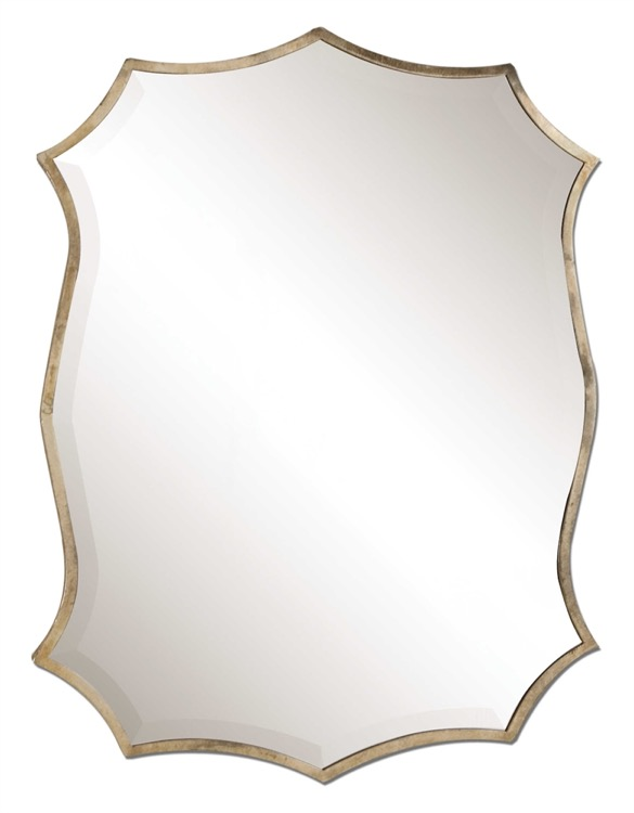 "Petite Oxidized Nickel Bevelled Mirror 23"" X 25.jpeg"