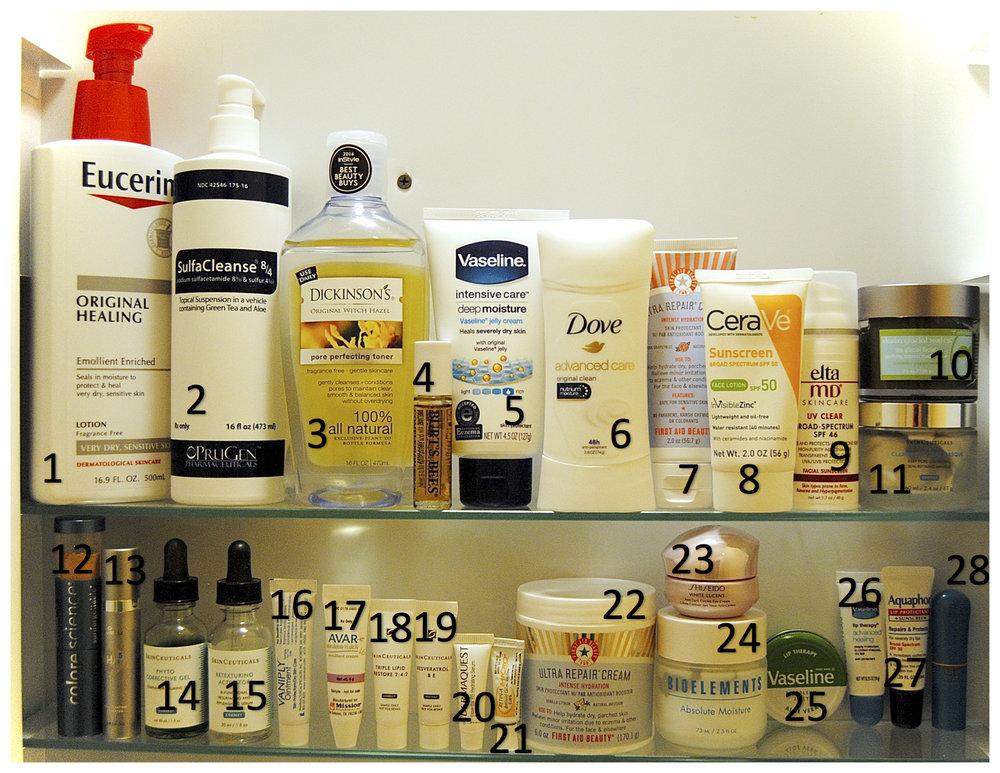 My winter skincare