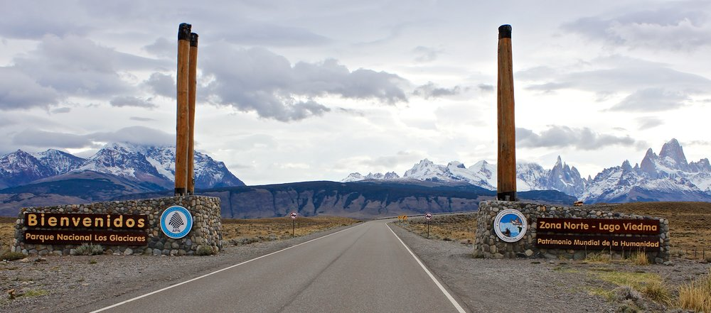 You'll be tempted to make lots of stops to take photos on your drive  to El Chaltén