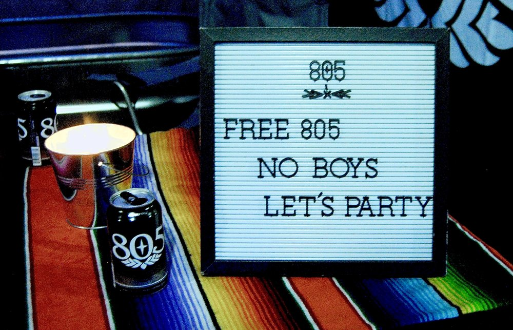 FREE 805 BEER - every night until they run out ...