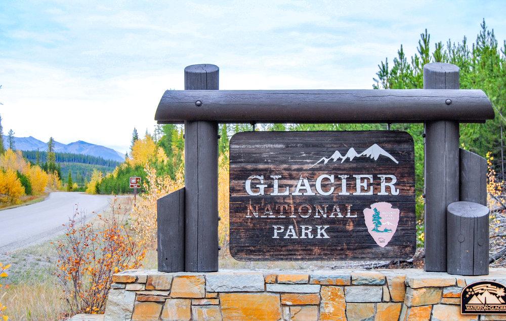 Camas Creek Entrance to Glacier National Park